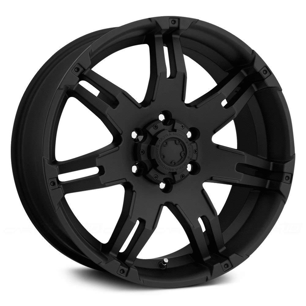 Ultra Wheel 238B Gauntlet Black Wheel (17x9'/5x5.5mm, 20 mm offset) 238-7985B