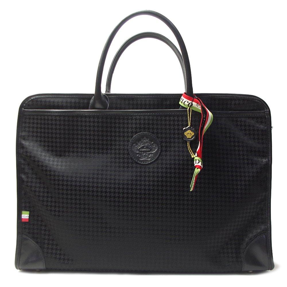 オロビアンコ Orobianco バッグ 2WAY ブリーフケース ビジネスバッグ ショルダーバッグ RUFUS T-A 7024105 ブラック(千鳥格子)×ブラック [並行輸入品] B076DXPGGS