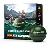 Deeper Chirp Castable and Portable Fish Finder for Kayaks Boats on Shore Ice Fishing Wireless Fishfinder Smart Sonar Fish Rad