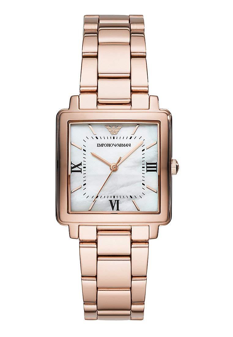 Emporio Armani AR11177 Rose Gold Steel 316 L Woman Watch