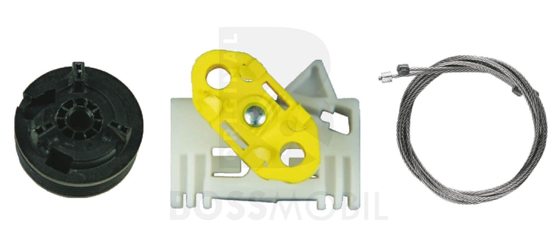 kit de reparaci/ón de elevalunas el/éctricos Trasero izquierdo Bossmobil MERIVA