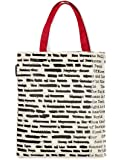"""Banned Books"" Literary Tote Bag - Made in the USA"