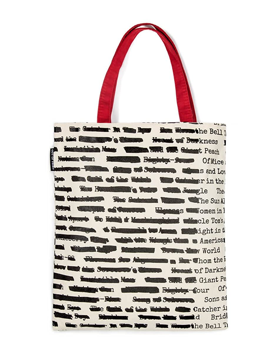 118f1f76678c Amazon.com  Out of Print Banned Book Tote Bag