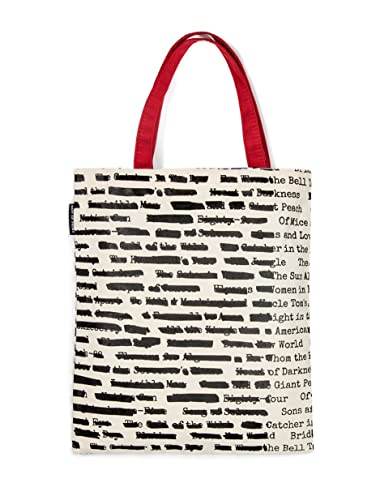 Amazon.com  Out of Print Banned Book Tote Bag 2d605c1606fc6