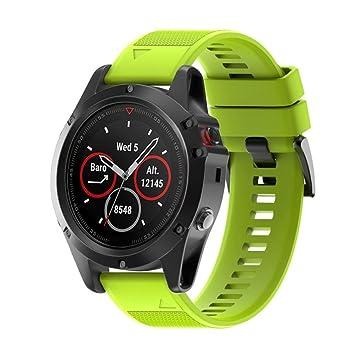 Garmin Fenix 5 x GPS Accesorios Banda, wawer 26 mm ancho correa de deporte reloj