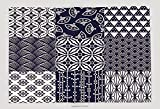 Supersoft Fleece Throw Blanket Seamless Japanese Traditional Mesh Pattern 250298773