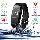 FengXun Fitness Tracker - Tracker Heart Rate Monitor - IP67 Waterproof Sports Activity Tracker