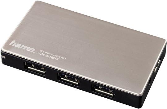 Hama - Ladrón de USB-3.0 para Ultrabook con Fuente de alimentación ...