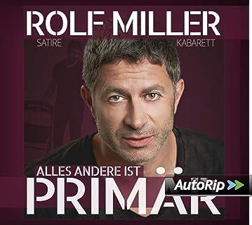 Alles Andere Ist Primär Rolf Miller Format: Audio CD