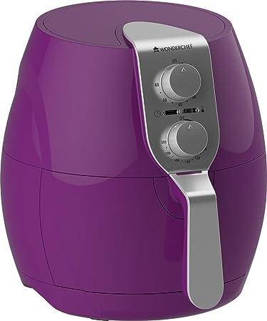 Wonderchef Prato 2.2-Litre Electric Air Fryer (Purple) Deep Fat Fryers at amazon