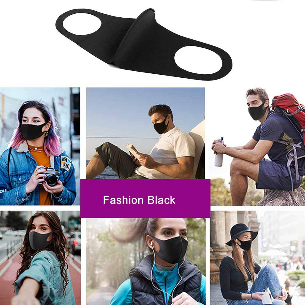Máscara Negra Moda (Fashion Black Mask)