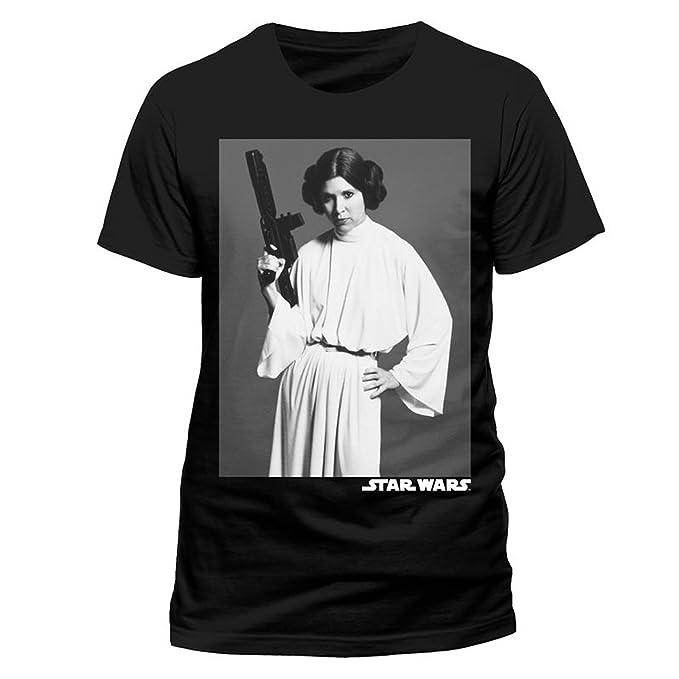 Star Wars A New Hope Princess Leia oficial Camiseta para hombre: Amazon.es: Ropa y accesorios