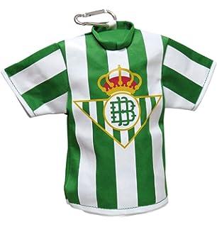 Llavero Escudo Real Betis Dorado: Amazon.es: Juguetes y juegos