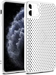 Diamond Avenue iPhone 11 Heat Dissipating - Breathable Case – Phone Cooling Item – Anti-Scratch and Dustproof Cover for Apple Phones – Ultra Slim – Cellular Hole Design
