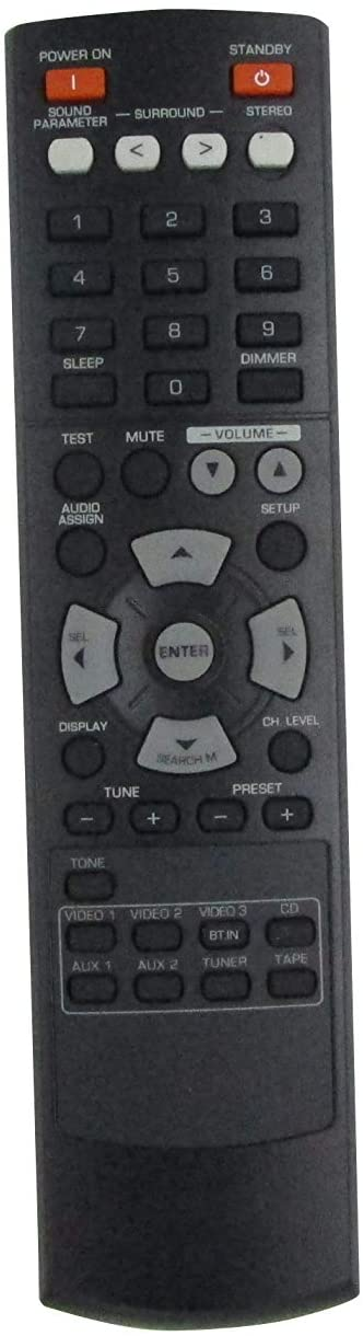 HCDZ Replacement Remote Control for Sherwood RC-134 RD-6505 AV A/V Audio Videl Receiver Amplifier