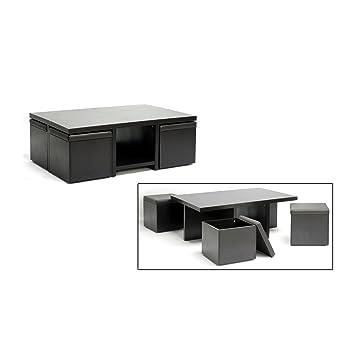 Amazon Com Baxton Studio Prescott Piece Modern Table And Stool