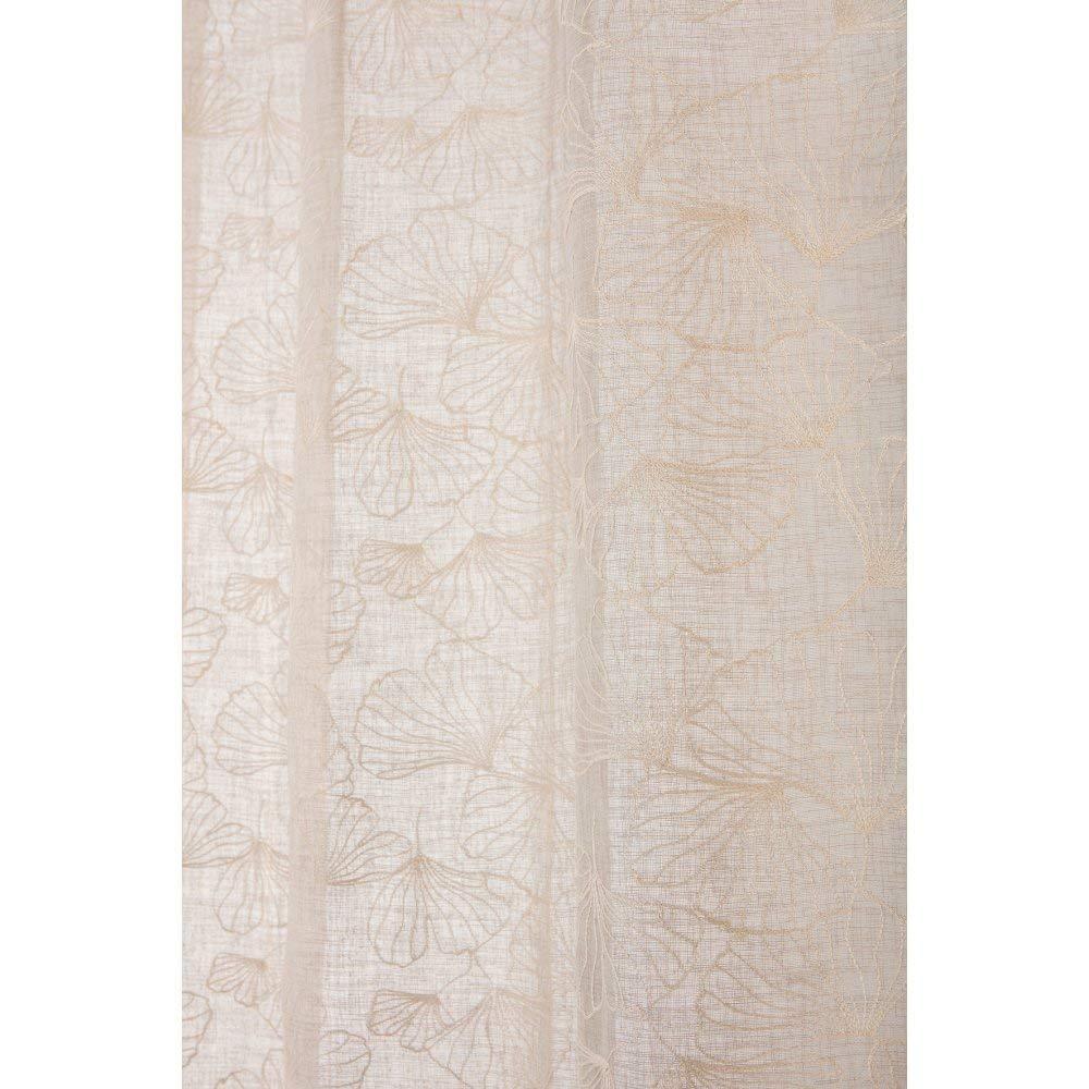 Soleil dOcre 510056 Couverture Polaire Polyester Ecru//Naturel 180 x 220 cm