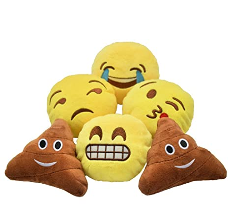 Amazon.com: yinggg Cute Mini Emoji Cojín Almohada Kids ...