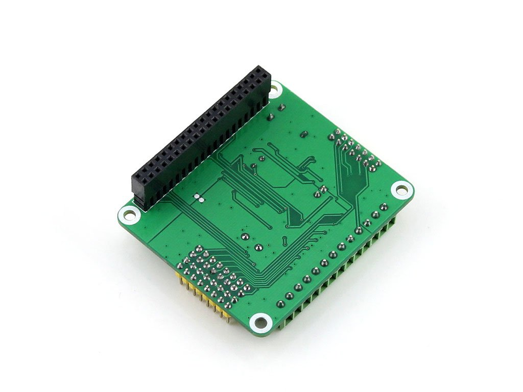 Waveshare Raspberry Pi Ad Da Expansion Sheild Board For Adding High Circuitdiagram Addaconvertercircuit Adconverter 16bitad Precision Functions To Onboard Ads1256 Dac8552 Sensor Interface