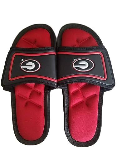 Georgia Bulldogs Men's All Day Comfort Foam Memory Slides Sandals