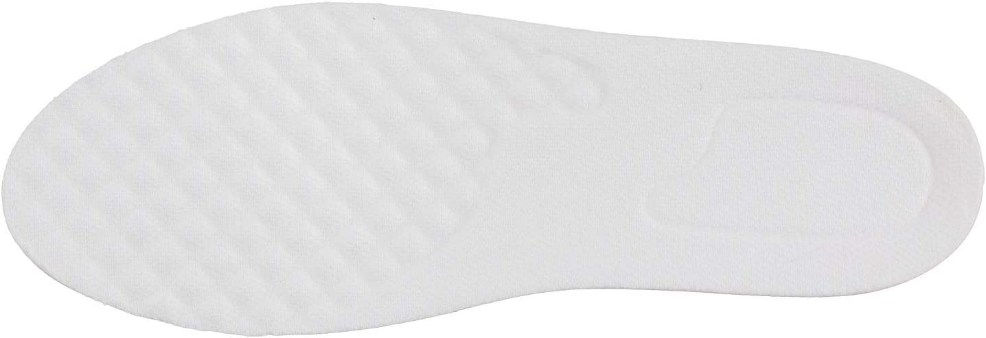 """IK109-1/"""" to 1.5/"""" Taller Elevator Height Increase White Color Detachable Insoles"""