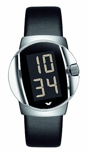 Ventura W12R1 - Reloj Digital automático para Hombre, Correa de Goma Color Negro: Amazon.es: Relojes