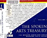img - for The Spoken Arts Treasury: 100 Modern American Poets Reading Their Poems: Volume One book / textbook / text book