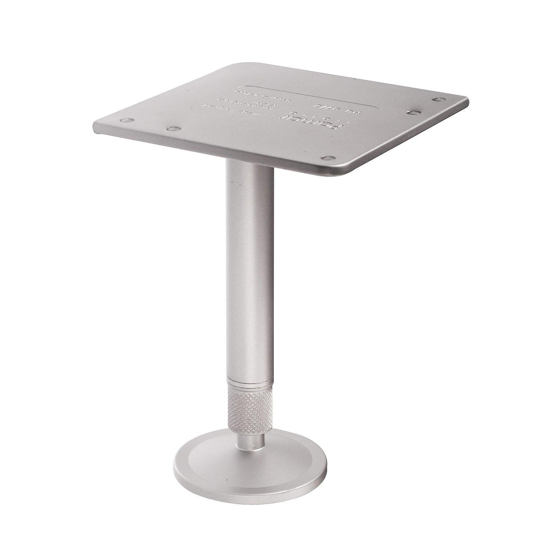 Richelieu Hardware - 27917510 - 175 mm (6-3/4'') - Design Furniture leg - 175 mm - Aluminum  Finish