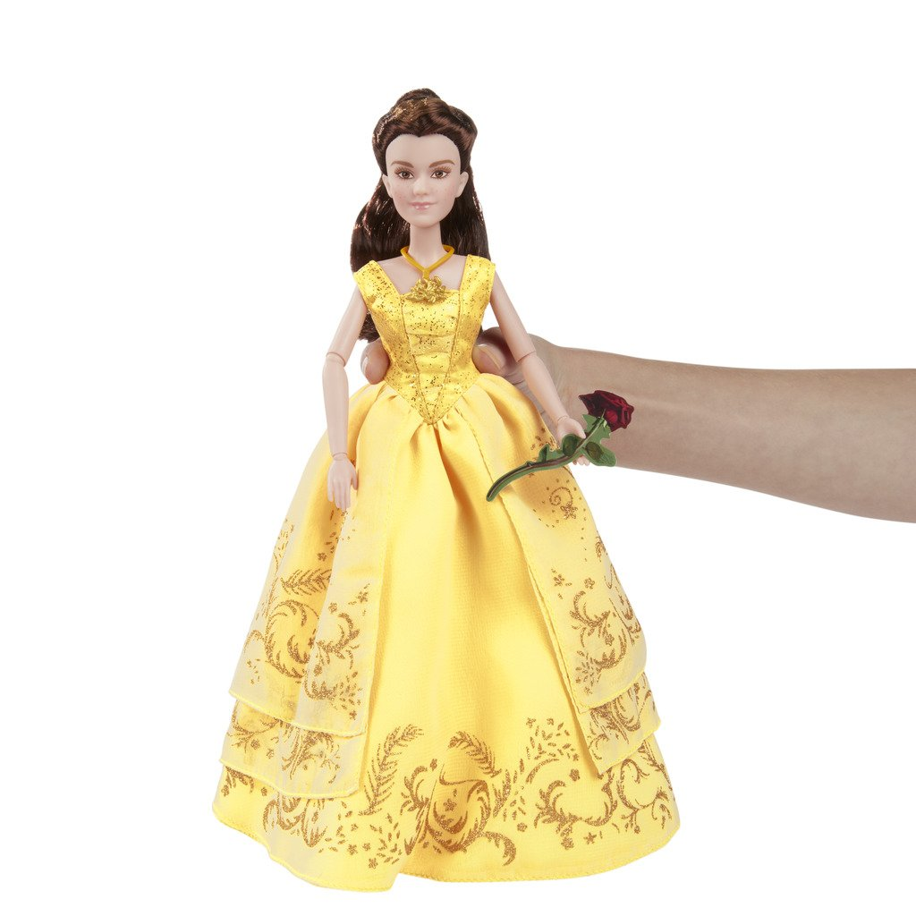 Disney Princess Beauty and the Beast Enchanting Ball Gown Belle ...