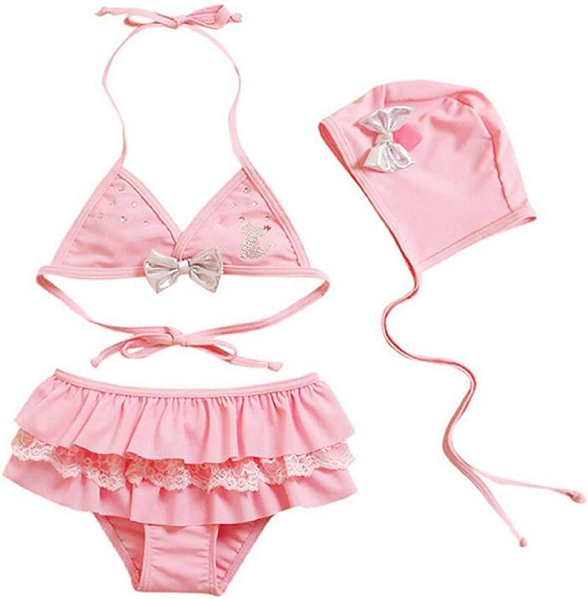 MIKI SHOP Swimwear Kids Summer Two Pieces Skirted Swimsuits Girl Bikinis Set Bikini Beach Wear Swimsuit for Girls