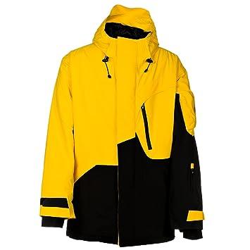 Hombre Snowboard Chaqueta Faible Pro M. Fabio Studer Jacket, otoño/invierno 11, color Negro / Amarillo, tamaño extra-large: Amazon.es: Deportes y aire libre