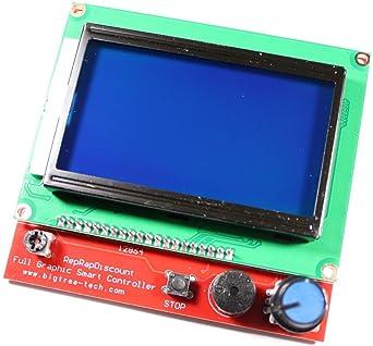 Paradisetronic.com con kit de pantalla LCD 12864 y controlador ...