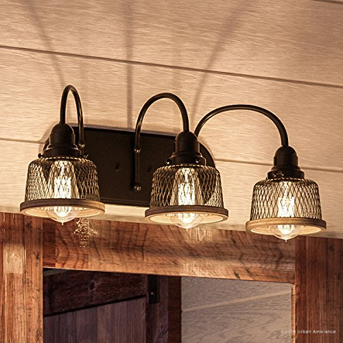 Luxury Vintage Bathroom Vanity Light, Medium Size: 8.375