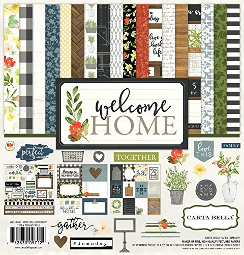 Welcome Home Kit - Carta Bella Paper Company Welcome Home Collection Kit