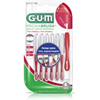 GUM Proxabrush - Cepillo Interdental Cilíndrico 6