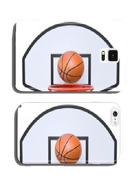 Canasta de baloncesto con calle memorycity, aro, carcasa waeiting ...