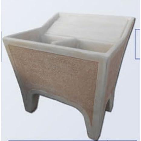 Bac A Laver Exterieur Ciment