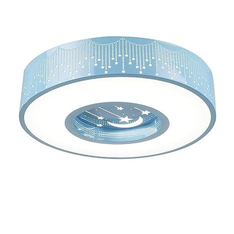 Amazon.com: Malovecf - Lámpara de techo redonda para niños y ...