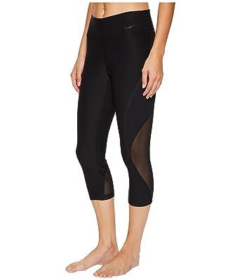 d0c977cedbc Amazon.com: NIKE Womens Yoga Fitness Athletic Pants Black XL: Clothing