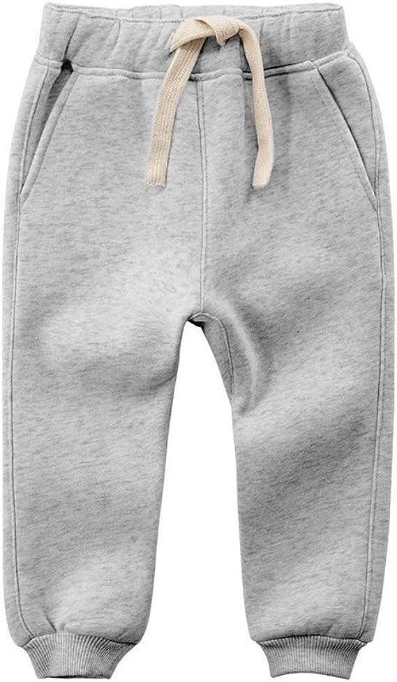 Vine Kids Pants Toddler Fleece Pants Joggers Tracksuit Bottom Training Sweatpants