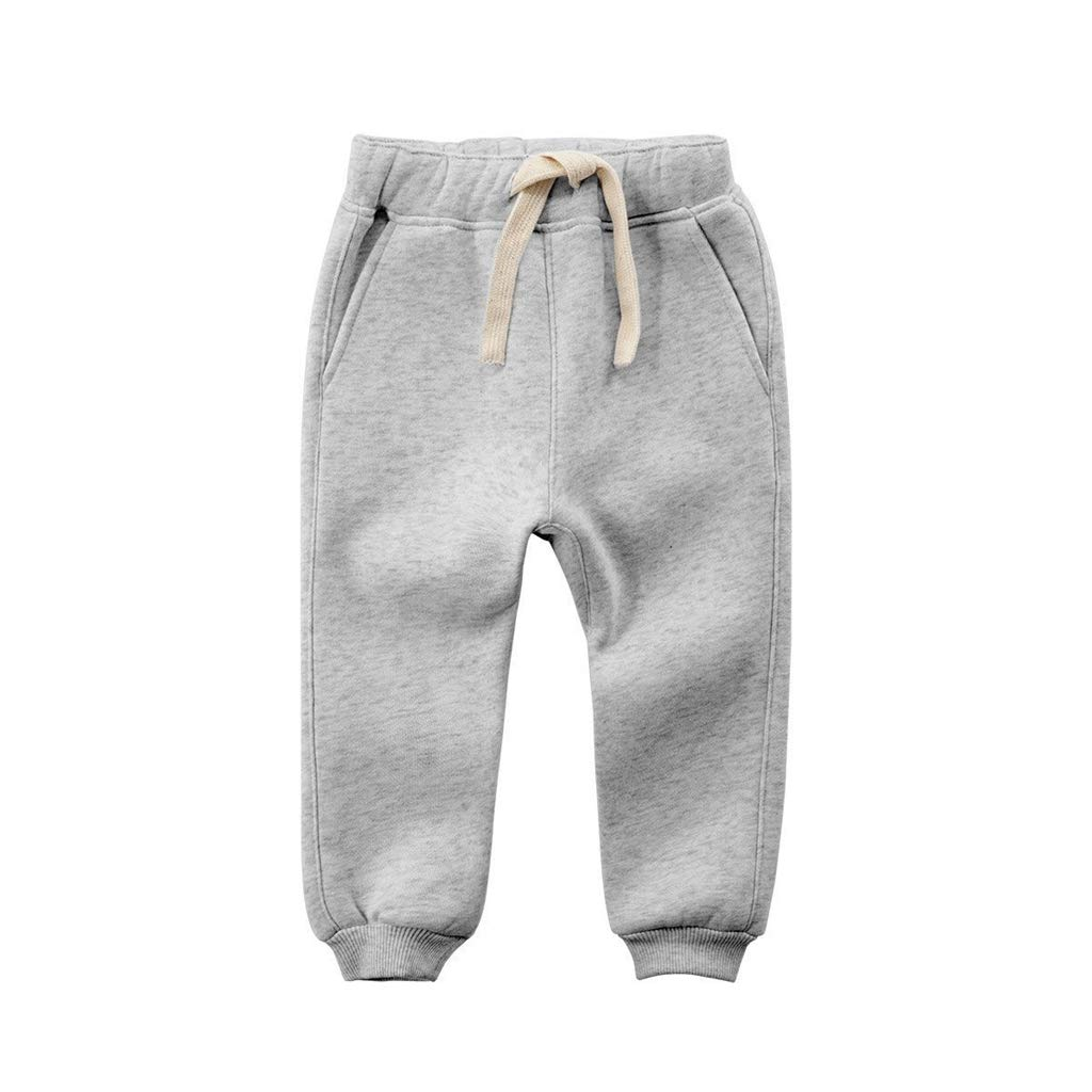 Kids Trousers, Toddler Boys Girls Fleece Pants Joggers Tracksuit Bottom Training Sweatpants Vine Trading Co. Ltd K180823KZ00103V