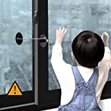 Window Door Restrictor Cable, Security Lock and