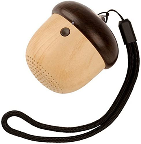 Cute Portable Mini Bluetooth Speaker Shaped Like Nut Acorn