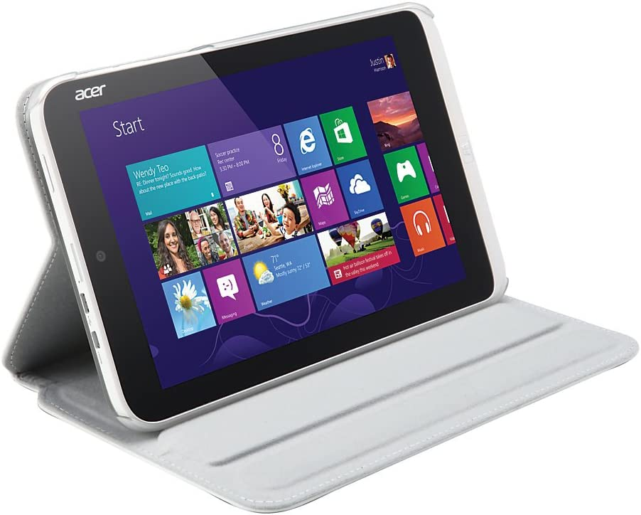 Acer Iconia W3-810 Tablet Protective Case (White)