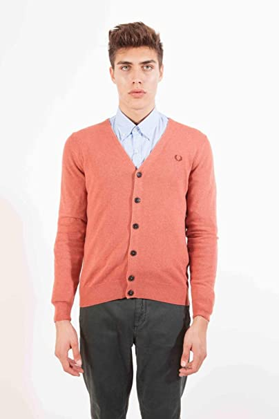 Fred Perry Chaqueta Punto Coral 3XL: Amazon.es: Ropa y ...