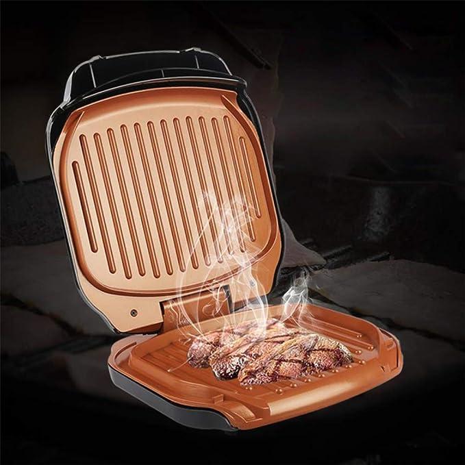 JIAX Waffle Filete eléctrico de la máquina automática Grill ...