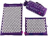 Spoonk Organic 2 PC SET/Eco Foam -Made in USA (Plum Purple)