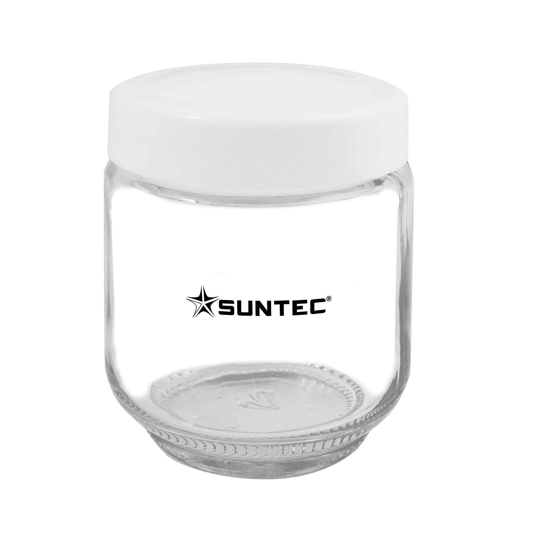 Set di recipienti con 6 recipienti in vetro da 170 ml, incl. coperchio, adatto a macchina per yogurt YOG-8571 easy + YOG-8588 digital SUNTEC Macchina per yogurt con recipienti YOG-CUP-6-SET-8687