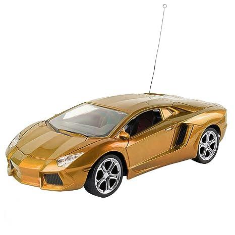 Amazon Com Gold Auto World Electric Rc Remote Control Thunder Speed