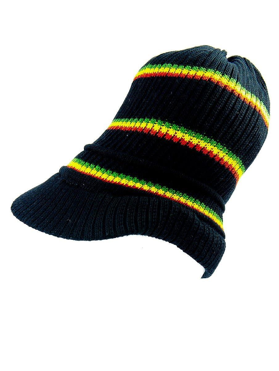 Rasta rasta4real Lion of Judah Black VISOR Hat